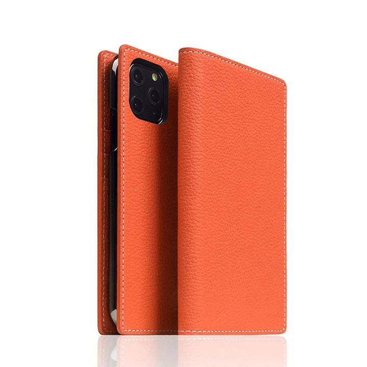 SLG Design Edition Full Grain Leather Flip Case Coral iPhone 12 mini_0