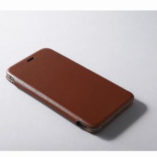 【iPhone6ケース】Deff 天然牛革手帳型ケース MASK ブラウン iPhone 6 ケース_1