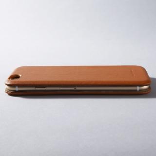 【iPhone6ケース】Deff 天然牛革手帳型ケース MASK キャメル iPhone 6 ケース_1