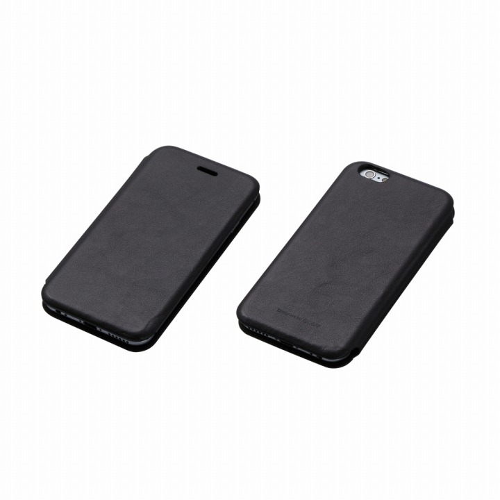 iPhone6s/6 ケース Deff 天然牛革手帳型ケース MASK ブラック iPhone 6s/6 ケース_0