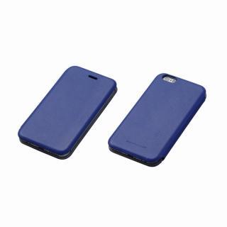 Deff 天然牛革手帳型ケース MASK ディープブルー iPhone 6s/6 ケース