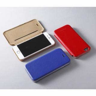 【iPhone6ケース】Deff 天然牛革手帳型ケース MASK ブラウン iPhone 6 ケース_8