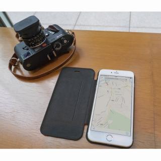 【iPhone6ケース】Deff 天然牛革手帳型ケース MASK キャメル iPhone 6 ケース_4