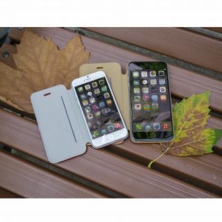 【iPhone6ケース】Deff 天然牛革手帳型ケース MASK キャメル iPhone 6 ケース_5