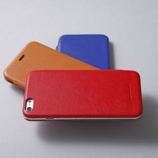 【iPhone6ケース】Deff 天然牛革手帳型ケース MASK キャメル iPhone 6 ケース_9