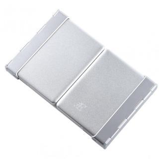 三つ折 Bluetoothコンパクトキーボード ホワイト 専用ケース付属_3