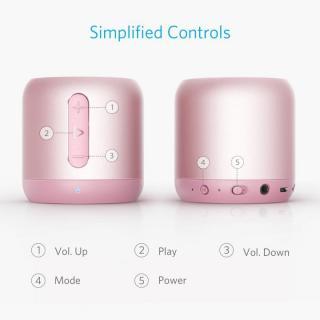 Anker SoundCore mini コンパクト Bluetoothスピーカー ローズゴールド_4