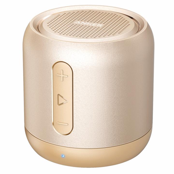 Anker SoundCore mini コンパクト Bluetoothスピーカー ゴールド