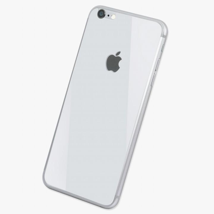 Deff 背面強化ガラス ホワイト iPhone 6 強化ガラス