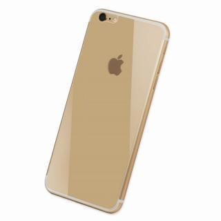 【iPhone6 ケース】Deff 背面強化ガラス ゴールド iPhone 6 強化ガラス