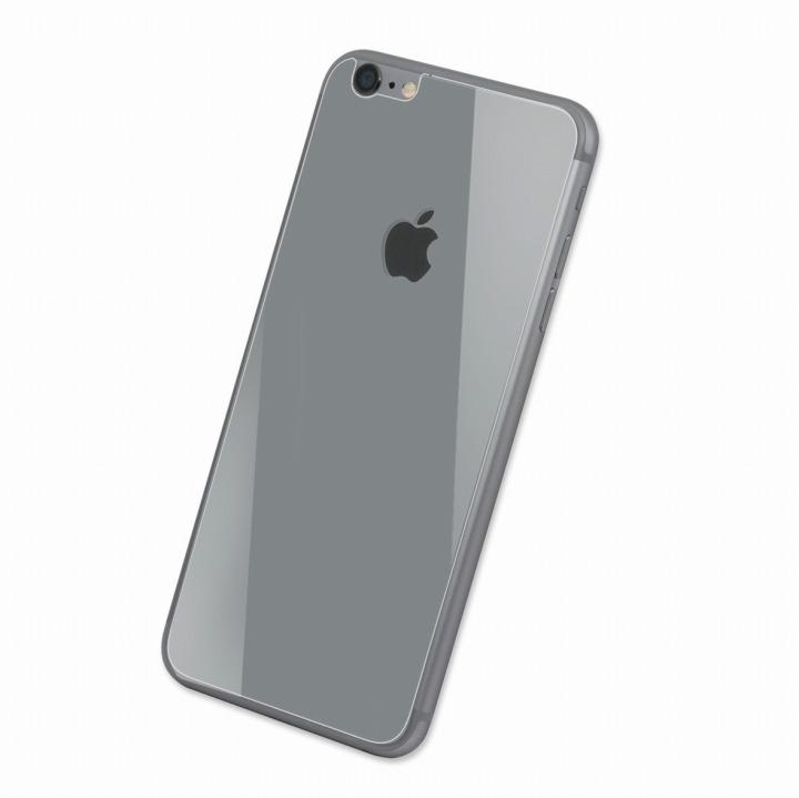 Deff 背面強化ガラス シルバー iPhone 6 強化ガラス
