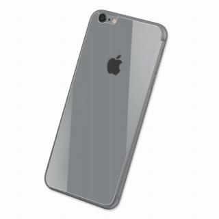 Deff 背面強化ガラス シルバー iPhone 6 Plus強化ガラス