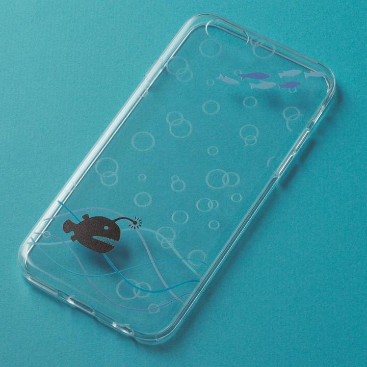 iPhone6 ケース アニマルデザイン クリアソフトケース アンコウ iPhone 6ケース_0