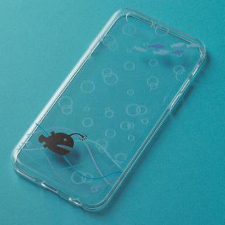 アニマルデザイン クリアソフトケース アンコウ iPhone 6ケース