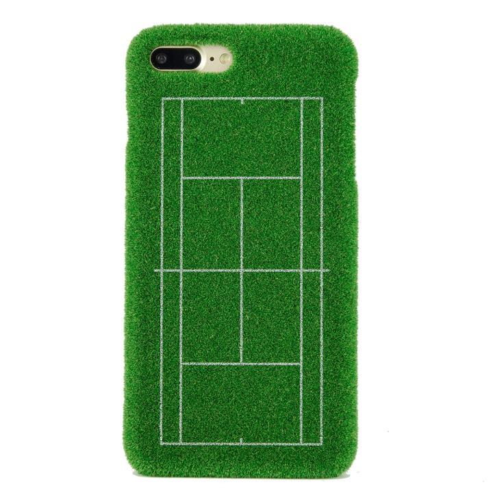 【iPhone8 Plus/7 Plusケース】Shibaful Sport 芝のテニスコート iPhone 8 Plus/7 Plus_0