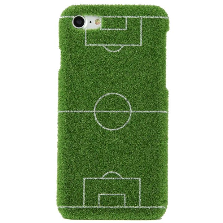 【iPhone8/7ケース】Shibaful Sport サッカーコート iPhone 8/7_0