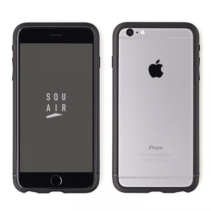 【iPhone6s Plusケース】SQUAIR The Edge バンパー ブラック  iPhone 6s Plus_0