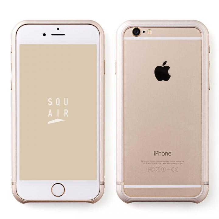 SQUAIR The Edge バンパー ゴールド iPhone 6s