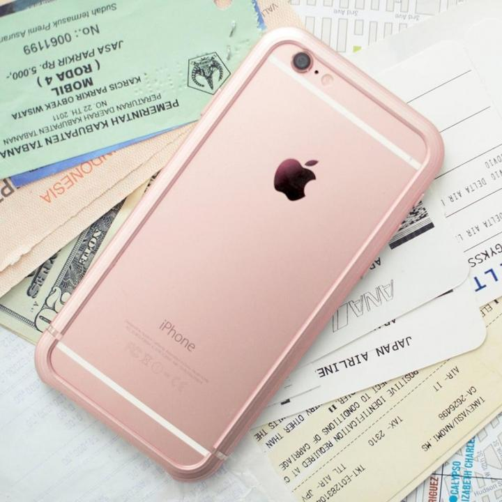 iPhone6s Plus ケース SQUAIR The Edge バンパー ローズゴールド  iPhone 6s Plus_0