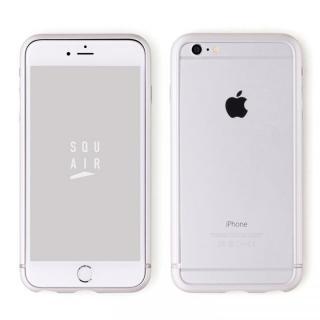 iPhone6s Plus ケース SQUAIR The Edge バンパー シルバー  iPhone 6s Plus