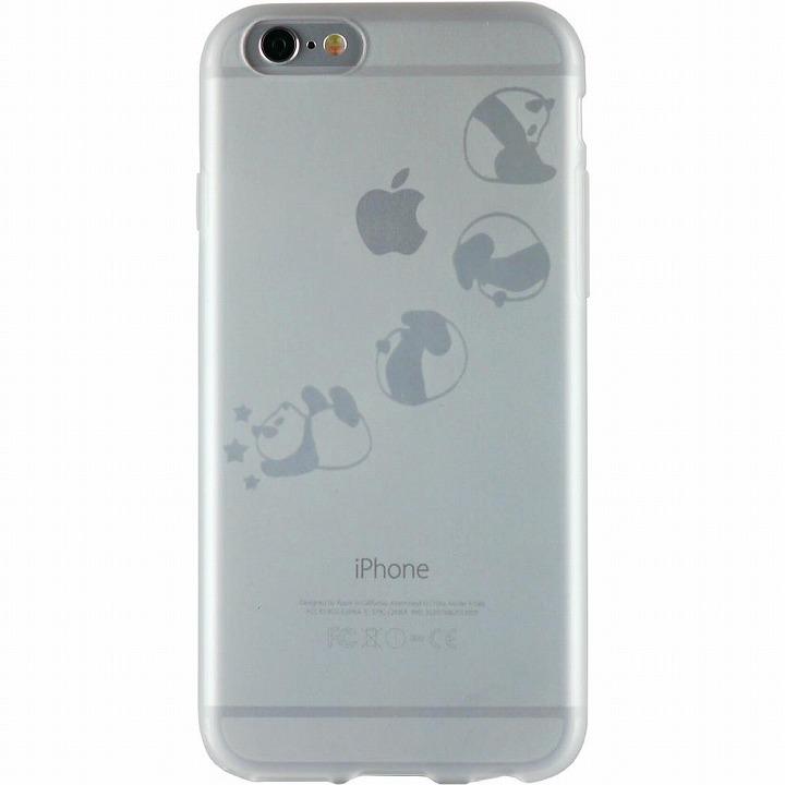 【iPhone6ケース】クリアマットケース パンダ iPhone 6ケース_0