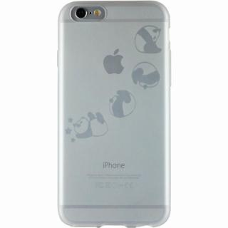 クリアマットケース パンダ iPhone 6ケース