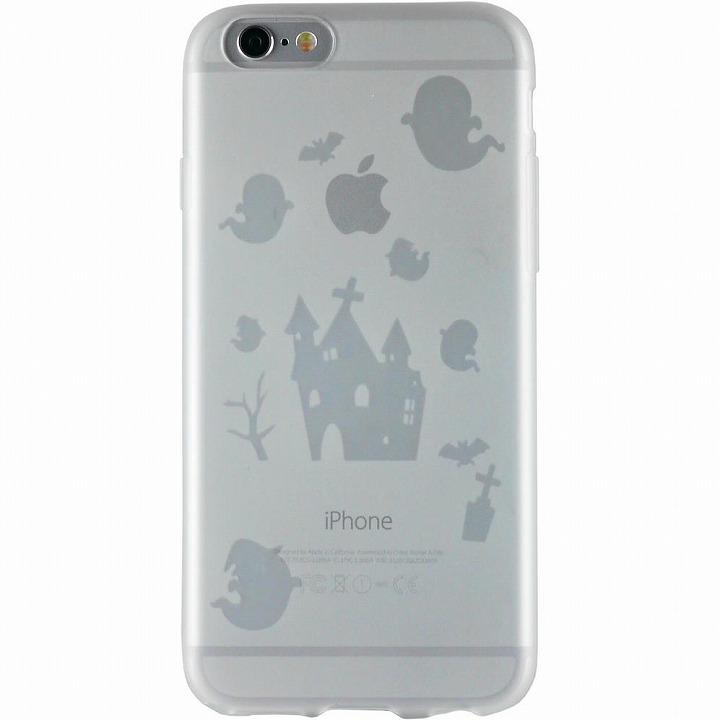 【iPhone6ケース】クリアマットケース オバケ iPhone 6ケース_0