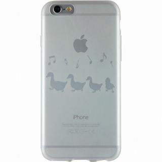 クリアマットケース アヒル iPhone 6ケース