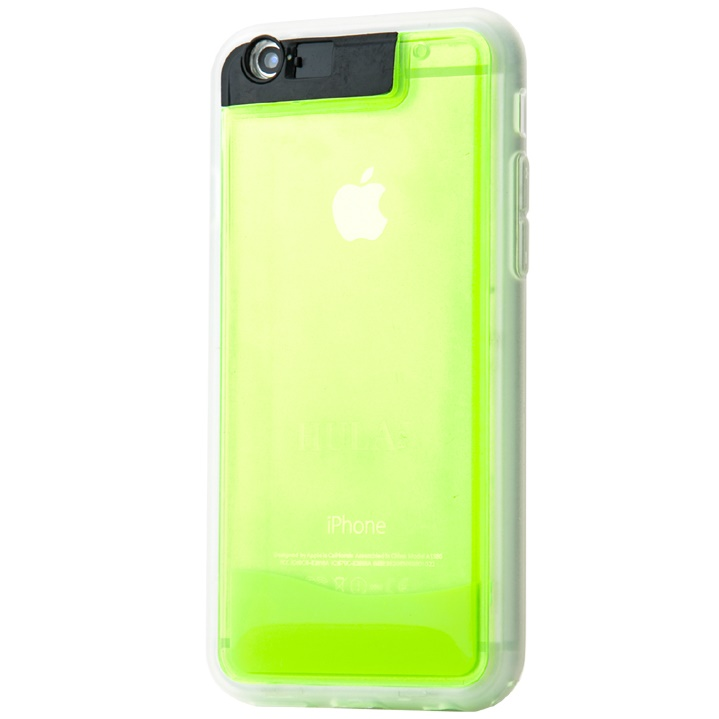 [2017夏フェス特価]3種の光を手に入れた フラレア リノ6 グリーン iPhone 6s/6