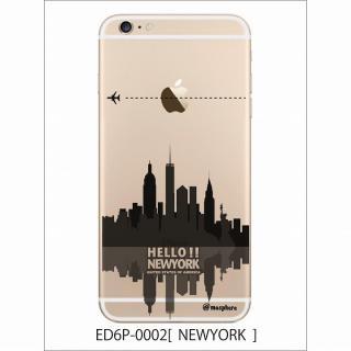 アトモスフィア クリアデザインハードケース ニューヨーク iPhone 6 Plusケース