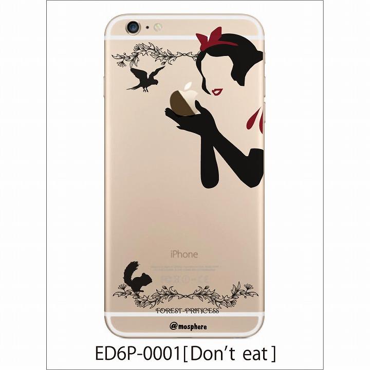 iPhone6 Plus ケース アトモスフィア クリアデザインハードケース 毒りんご iPhone 6 Plusケース_0