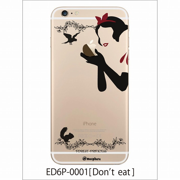【iPhone6 Plusケース】アトモスフィア クリアデザインハードケース 毒りんご iPhone 6 Plusケース_0