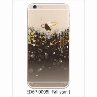 アトモスフィア クリアデザインハードケース 流星 iPhone 6 Plusケース
