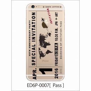 アトモスフィア クリアデザインハードケース パス iPhone 6 Plusケース