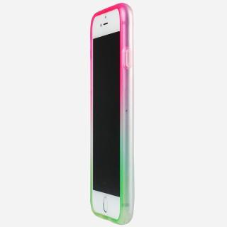 鮮やかなカラーリング 染 ソフトバンパー 桜 iPhone 6バンパー