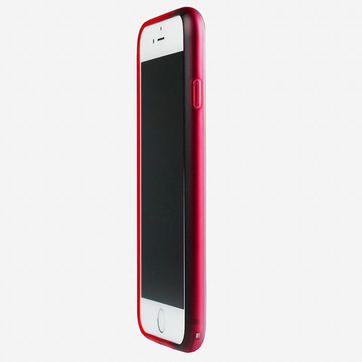 iPhone6 ケース 鮮やかなカラーリング 染 ソフトバンパー 紅 iPhone 6バンパー_0