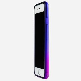 鮮やかなカラーリング 染 ソフトバンパー 宵 iPhone 6バンパー