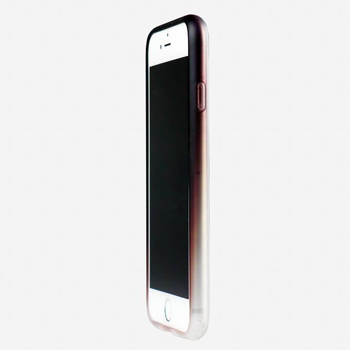 【iPhone6ケース】鮮やかなカラーリング 染 ソフトバンパー 茶 iPhone 6バンパー_0