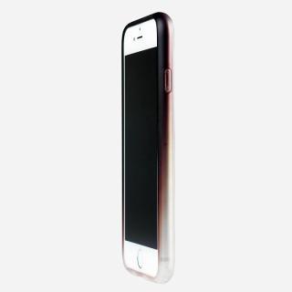 鮮やかなカラーリング 染 ソフトバンパー 茶 iPhone 6バンパー