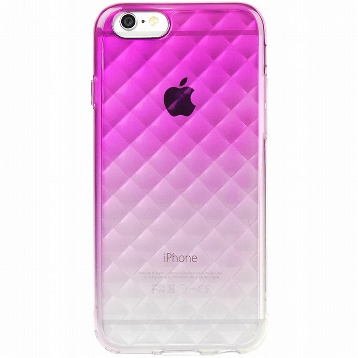 【iPhone6ケース】鮮やかなカラーリング 染 DHパープル iPhone 6ケース_0