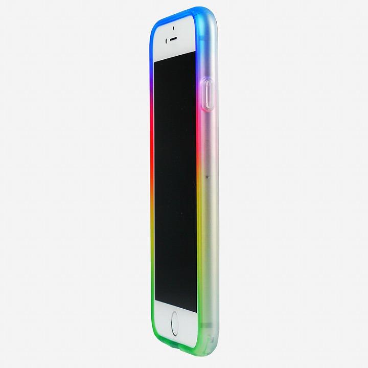 【iPhone6ケース】鮮やかなカラーリング 染 ソフトバンパー 夢 iPhone 6バンパー_0
