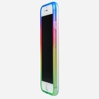 鮮やかなカラーリング 染 ソフトバンパー 夢 iPhone 6バンパー