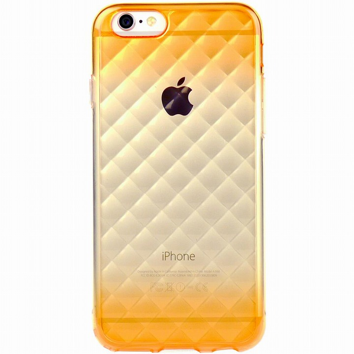 iPhone6 ケース 鮮やかなカラーリング 染 DWオレンジ iPhone 6ケース_0