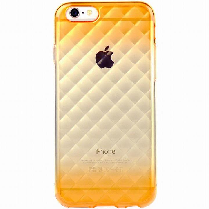 【iPhone6ケース】鮮やかなカラーリング 染 DWオレンジ iPhone 6ケース_0