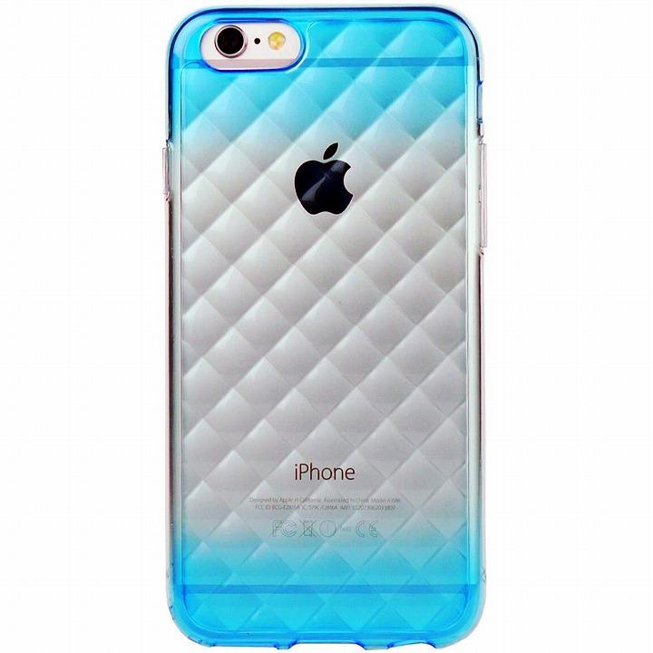 【iPhone6ケース】鮮やかなカラーリング 染 DWブルー iPhone 6ケース_0