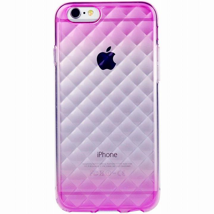 鮮やかなカラーリング 染 DWパープル iPhone 6ケース