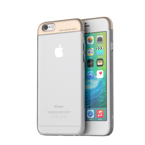 【iPhone6s/6ケース】POPS Bar ハードケース シャンパンゴールド iPhone 6s/6_0