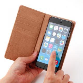 【iPhone6ケース】トローリー(旅行カバン)風手帳型ケース ピンク iPhone 6ケース_3