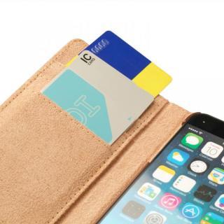 【iPhone6ケース】トローリー(旅行カバン)風手帳型ケース ピンク iPhone 6ケース_4