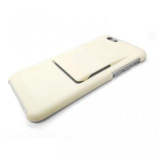 ケースとクリップが一体型 mononoff ホワイト iPhone 6s/6ケース